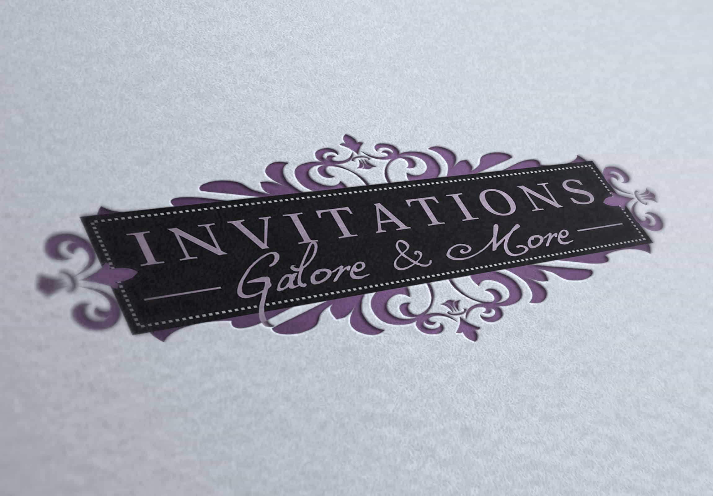 Invitations Galore & More - Branding & Marketing