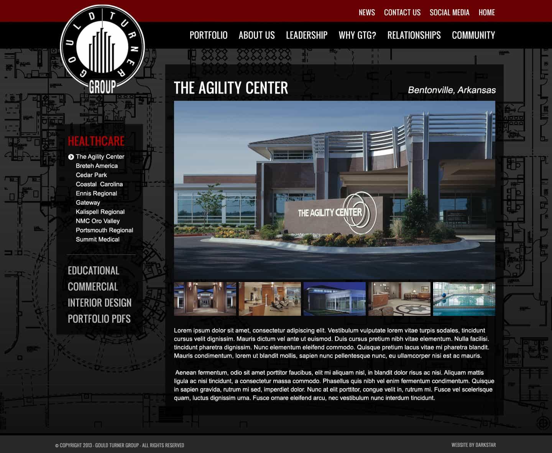 Gould Turner - Website Design