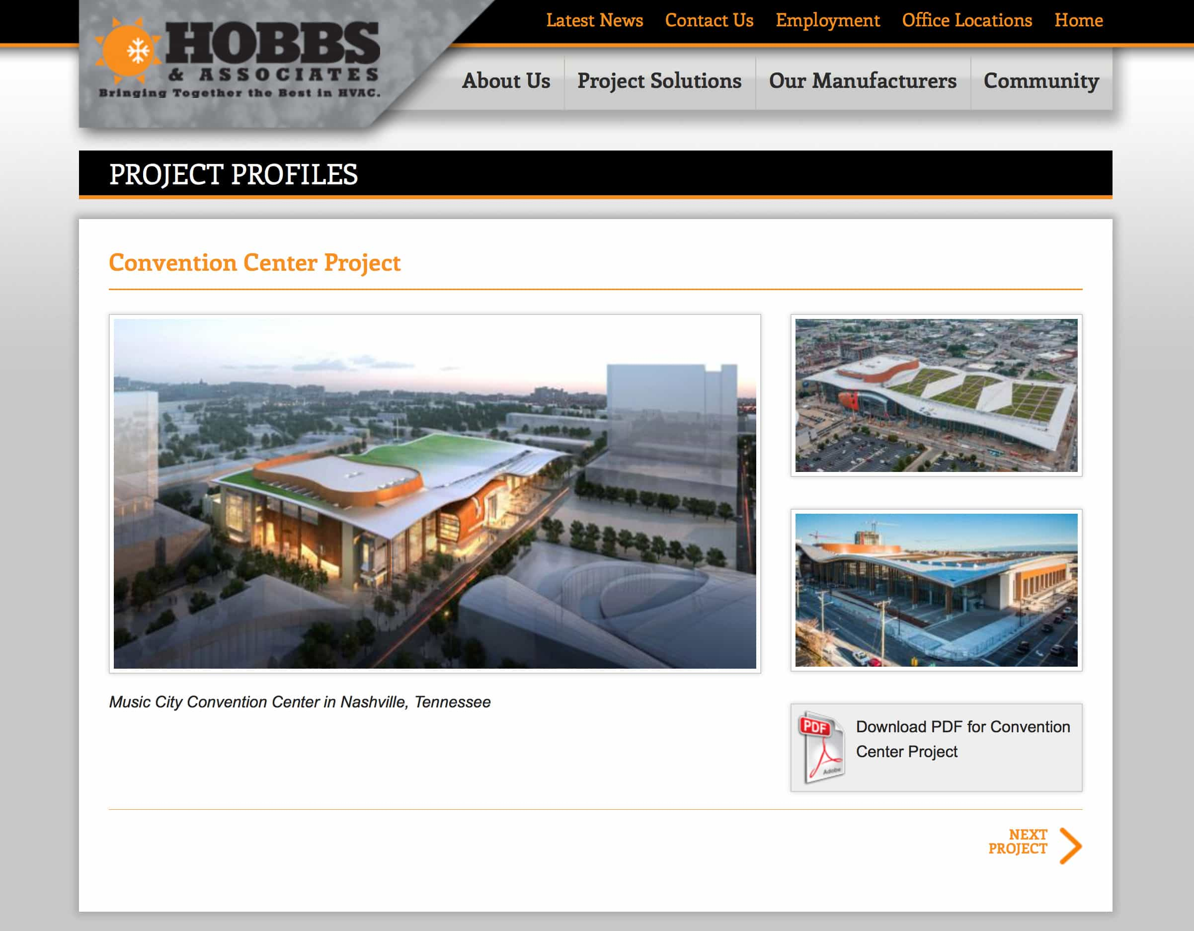 Hobbs & Associates - Web Design