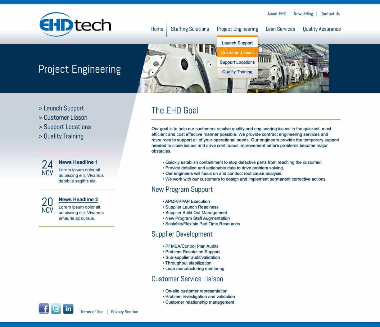 EHD - Website Design