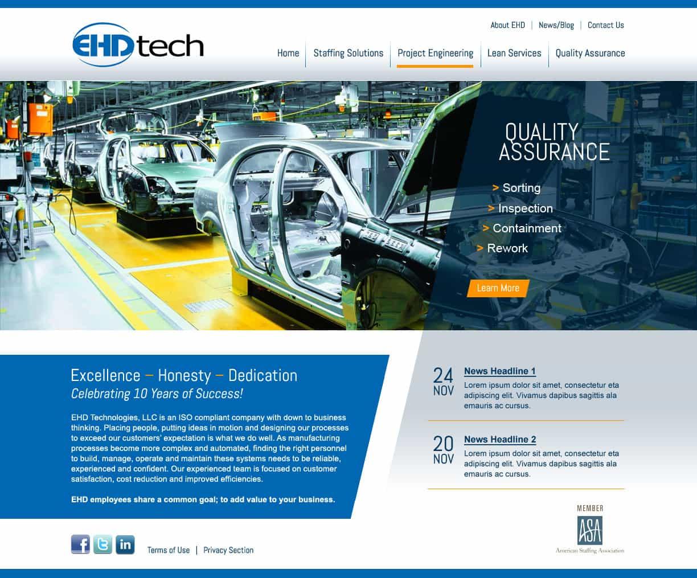 - Website DesignEHD