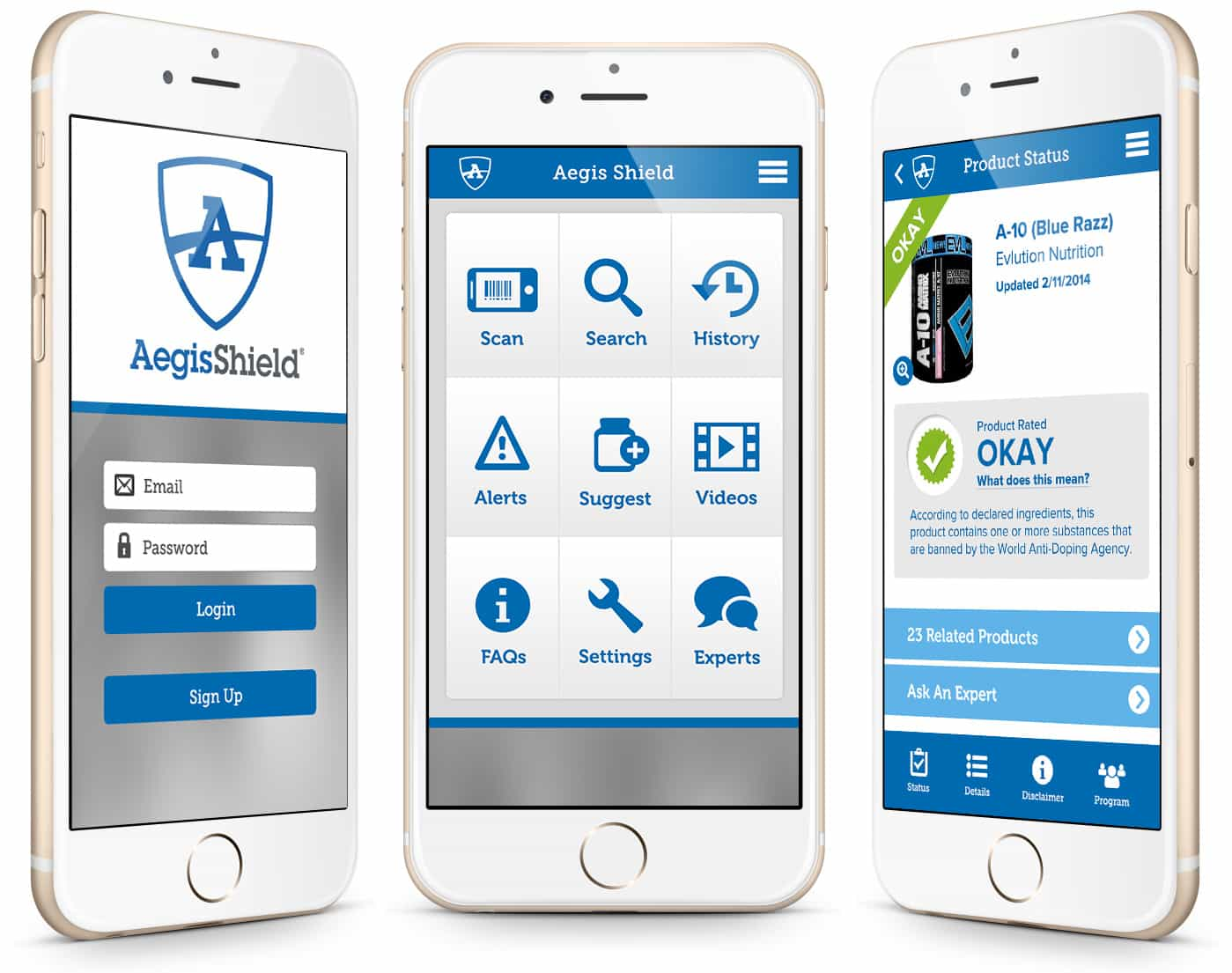 Aegis Shield - Mobile App Development