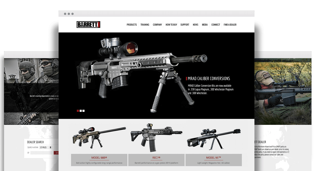 Barrett Website Design