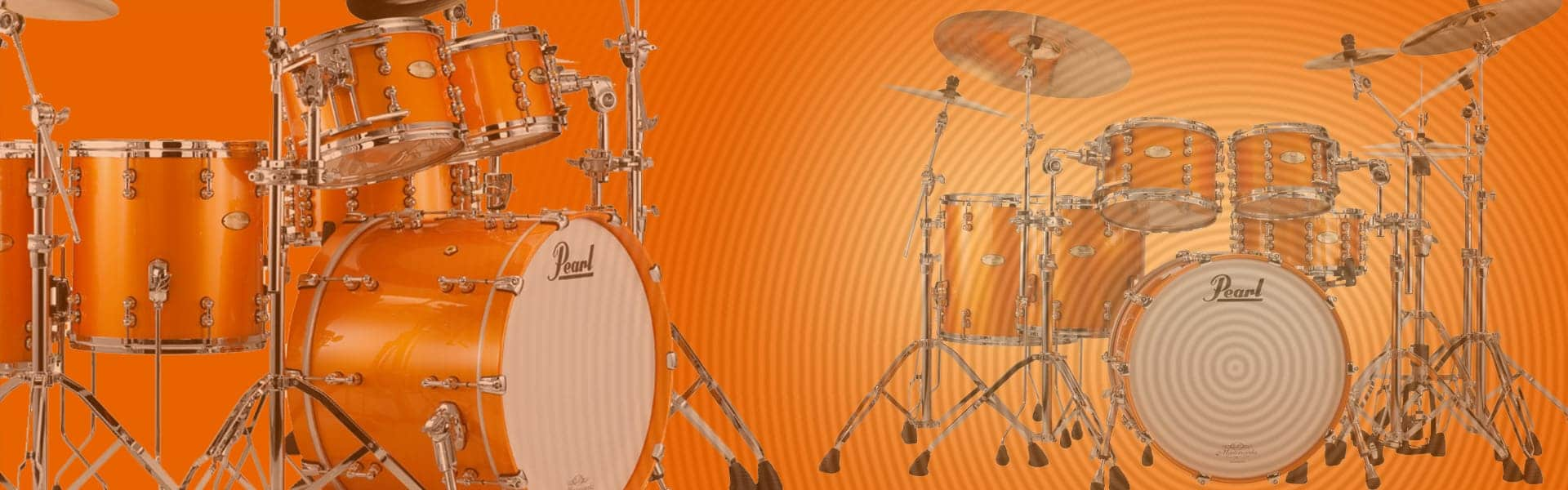 Pearl Drums | Web Design | E-commerce | Darkstar Digital