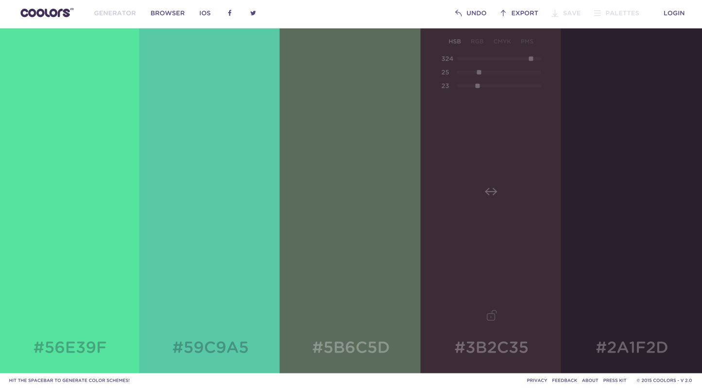 Cool Color Schemes App For Cool Designers